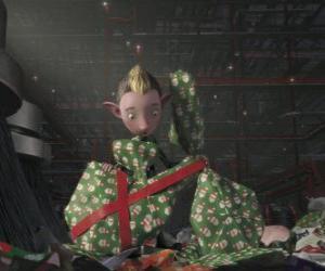 Puzzle de Bryony, un elfo del Batallón de Envoltura De Regalos