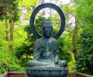 Puzzle de Buda Gautama sentado