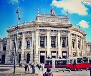 Puzzle de Burgtheater, Austria