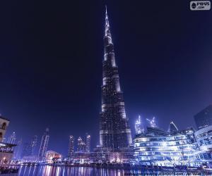 Puzzle de Burj Khalifa, Dubái