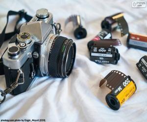 Puzzle de Cámara fotográfica reflex