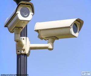 Puzzle de Cámaras de vigilancia