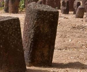 Puzzle de Círculos megalíticos de Senegambia, Gambia y Senegal