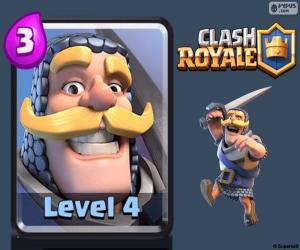 Puzzle de Caballero de Clash Royale