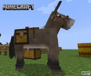 Puzzle de Caballo de Minecraft