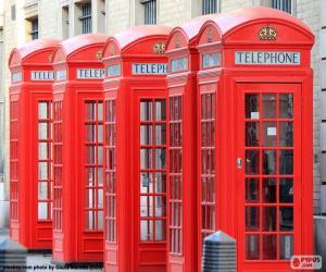 Puzzle de Cabinas telefónicas Londres