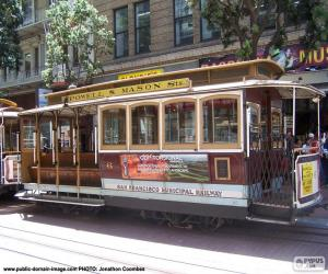 Puzzle de Cable Cars de San Francisco