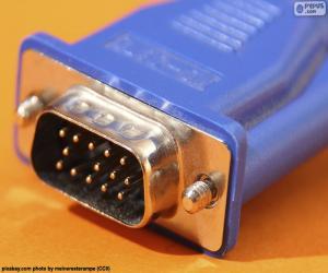 Puzzle de Cable VGA