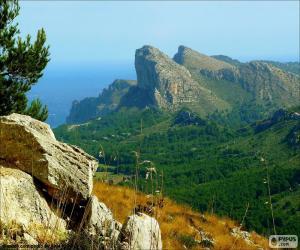 Puzzle de Cabo de Formentor, Mallorca