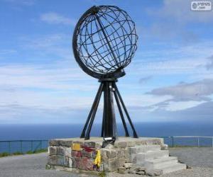 Puzzle de Cabo Norte, Noruega
