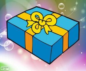 Puzzle de Caja de regalo de Navidad