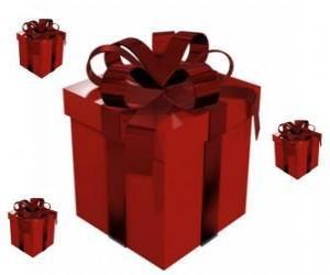 Puzzle de Cajas de regalo de Navidad