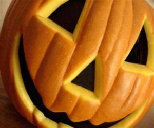 Puzzle de Calabaza de Halloween