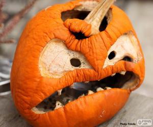 Puzzle de Calabaza Halloween