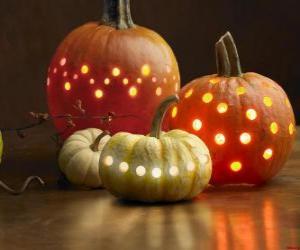 Puzzle de Calabazas de Halloween