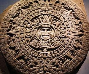 Puzzle de Calendario místico azteca