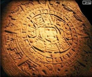 Puzzle de Calendario maya