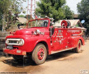 Puzzle de Camión de bomberos, Birmania