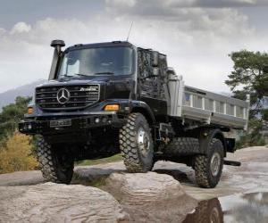 Puzzle de Camión Mercedes Benz Zetros