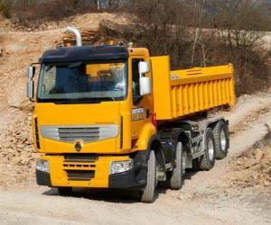 Puzzle de Camión Renault Premium Lander