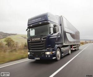 Puzzle de Camión Scania R 580 4×2 Streamline