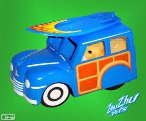 Puzzle de Camión surf