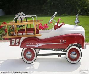 Puzzle de Camión bomberos para niños