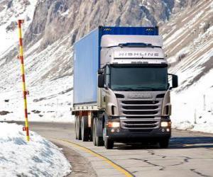 Puzzle de Camión Scania R 470