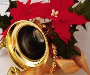Puzzle de Campana adornada para la Navidad