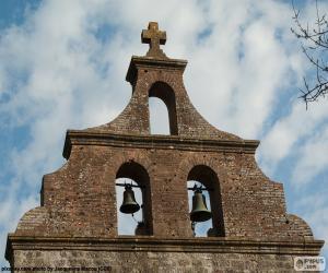 Puzzle de Campanario de una iglesia