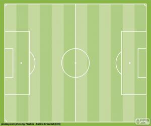Puzzle de Campo de fútbol