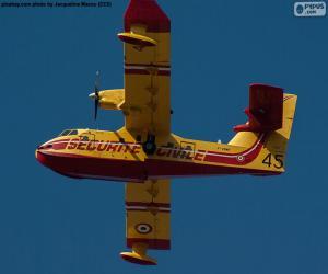 Puzzle de Canadair CL-215, Hidroavión