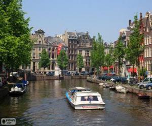 Puzzle de Canales de Ámsterdam, Países Bajos