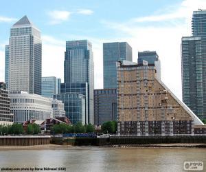 Puzzle de Canary Wharf, Londres