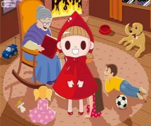 Puzzle de Caperucita Roja