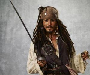 Puzzle de Capitán pirata