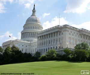 Puzzle de Capitolio Estados Unidos
