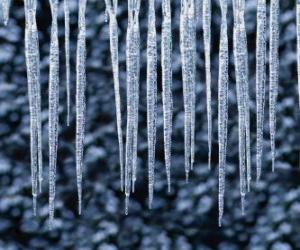 Puzzle de Carámbanos de hielo