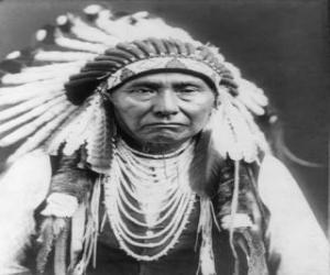 Puzzle de Cara del jefe indio