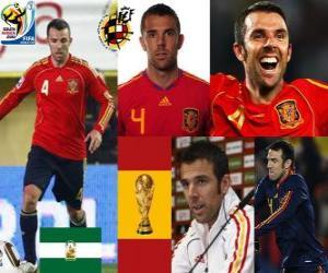 Puzzle de Carlos Marchena (El imbatible) defensa Selección Española