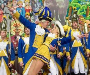 Puzzle de Carnaval de Colonia, Alemania