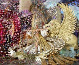 Puzzle de Carnaval de Santa Cruz de Tenerife, España