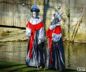 Puzzle de Carnaval Venecia