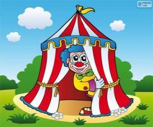 Puzzle de Carpa del circo