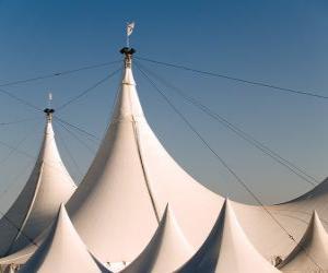 Puzzle de Carpas de un circo