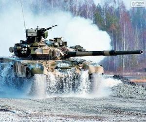 Puzzle de Carro de combate ruso T-90S