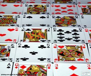 Puzzle de Cartas de póker