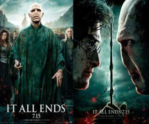 Puzzle de Carteles de Harry Potter y las Reliquias de la Muerte (6)
