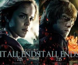 Puzzle de Carteles de Harry Potter y las Reliquias de la Muerte (4)