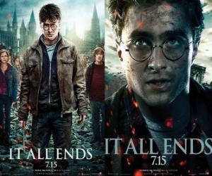 Puzzle de Carteles de Harry Potter y las Reliquias de la Muerte (3)